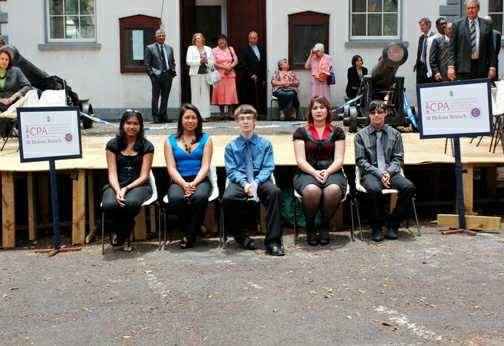 The St Helena Youth Parliament (photo: Robyn Sim) [The Turner Family:Family Stuff]